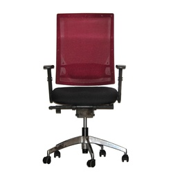 Officepoint Mid Back Office Chair KI-03W Maroon