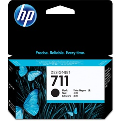 HP INK CARTRIDGE CZ129A 711 BLACK