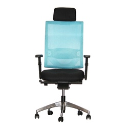 Officepoint High Back Office Chair K1-01W Blue