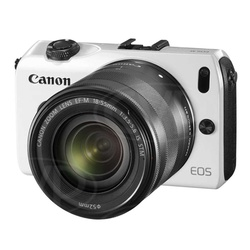 Canon Camera EOS M (WH) 18-55 IS STM