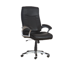 Zion- Leather Chair Mid Back PU Rotated 1649-M
