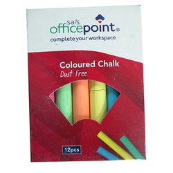 OFFICEPOINT CHALK DUSTLESS COL DCC 2