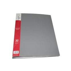 OFFICEPOINT DISPLAY BOOK 30PK US30 GRAY