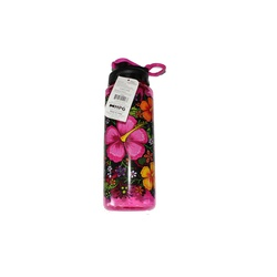WATER BOTTLE CYLINDER PRINTED PINK #1049 946ML