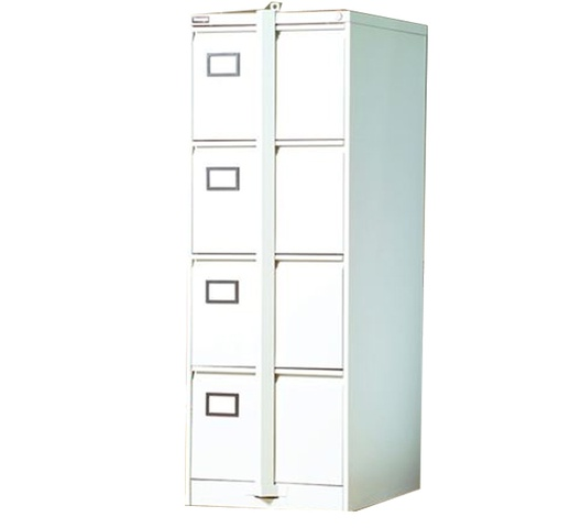 METAL CABINET 4 DRAWER WITH SECURITY BAR