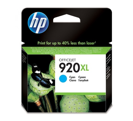 HP INK CARTRIDGE CYAN CD972AE 920XL