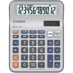 Casio 12 Digits MC-12M Calculator