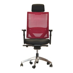 Officepoint High Back Office Chair K1-01B Maroon