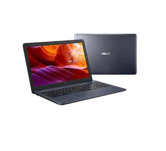 "Asus  X543MA Intel Celeron 4GB RAM 500GB HDD Windows 10 15.6"" Black Laptop + Free OfficePoint Laptop Bag"