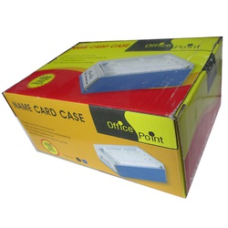 OFFICEPOINT NAME CARD CASE 600 CARDS 4601
