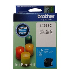Brother Ink Cartridge Cyan LC673