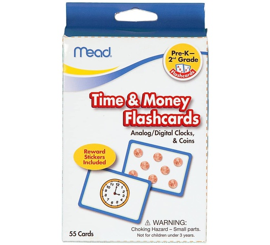 Mead Time and Money Flashcards  55 Cards (63146)