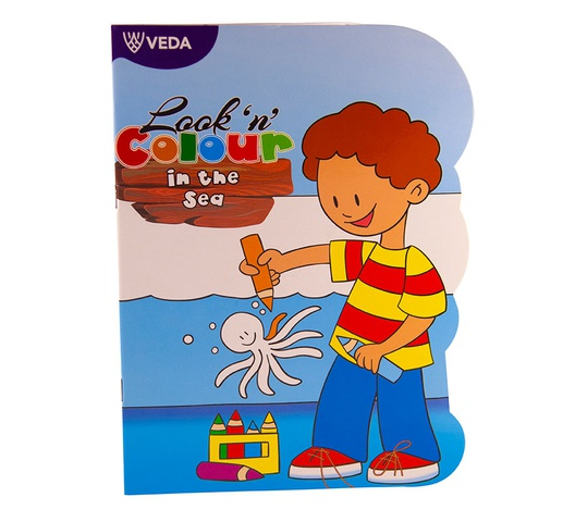 Veda Look 'N' Colour Books in the Sea