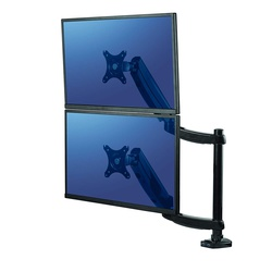 Fellowes Platinum Series Dual Stacking Monitor Arm.