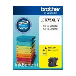Brother Ink Cartridge Yellow LC675XL