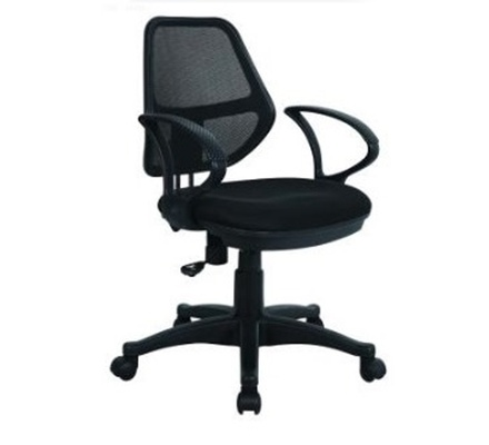 OfficePoint Mesh Mid Back Chair Rotated KB-2009