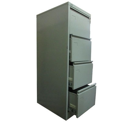 METAL CABINET 4 DRAWER STANDARD