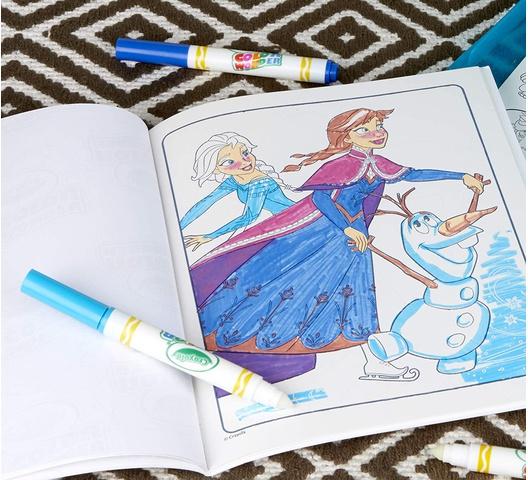 Crayola Frozen Color Wonder 18 Sheets 75-2404 | Office Mart