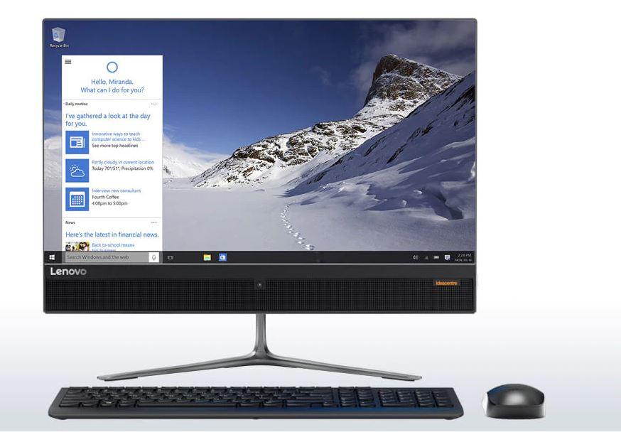 """Lenovo 510 Core i5 4GB RAM 1TB Windows 10 Home 23"""" All-in ..."""